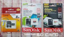 Paduan memilih SD card